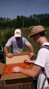 Taken in Arkansas during the youth mission trip with Feeding America