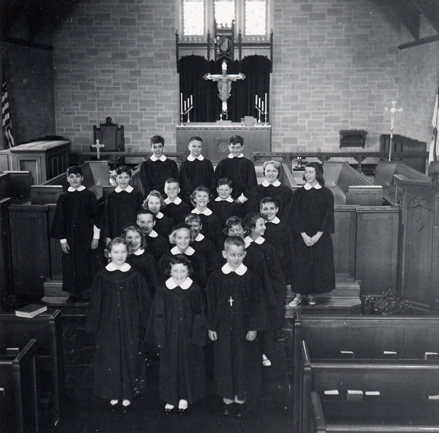 Grace Episcopal ChurchGrace Episcopal Church and the Van